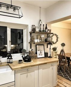 Kitchen Dining, Kitchen Cabinets, Sweet Home, New Homes, Home And Garden, Interiors, Interior Ideas, Caption, Inspiration