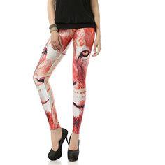 Crazy Leggings, Yoga Leggings, Galaxy Leggings, High Fashion, Womens Fashion, Capri Pants, Stylish, Face, Lion