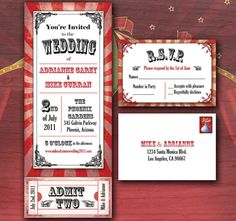 Wedding invites @Brenda Menendez... these would be cute because of your venue...