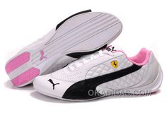 http://www.okadidas.com/womens-puma-wheelspin-white-black-pink-lastest.html WOMENS PUMA WHEELSPIN WHITE BLACK PINK LASTEST Only $74.00 , Free Shipping!