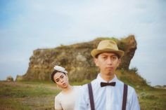 Our Vintage style photoshot.. #Semarang#prewedding#vintage