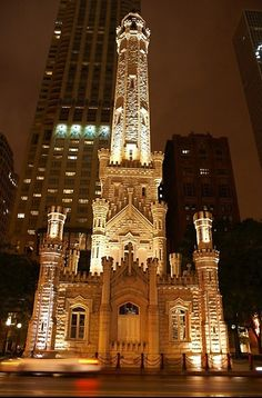 Chicago♥/water tower