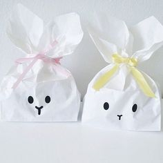 mommo design: EASTER BUNNY CRAFTS -Easter bunny paper bags