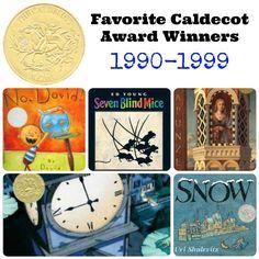 Our personal Favorite Caldecott Award Winners 1990-1999