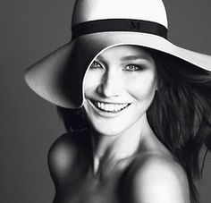 Carla Bruni Vogue Paris by Mert and Marcus.