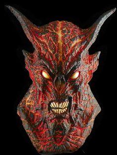 halloween mask demon mask | devil masks and lookalikes | Pinterest ...