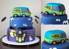 Scooby dooby doo Cake