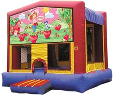 Strawberry Shortcake Bounce House / Moonwalk..Perfect for your party!