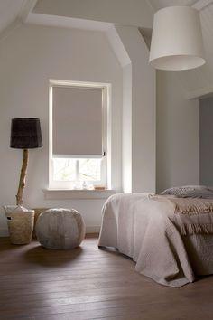 puur #wonen #slaapkamer #rolgordijnen #beige #raamdecoratie #bece www ...