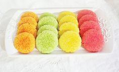 en Casa Erika tenemos mini perlas de colores para que adornes tus galletas