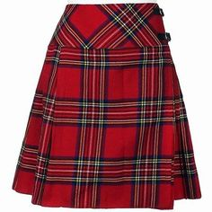 """Ladies Knee Length Royal Stewart Kilt Skirt 20"""" Length Tartan Pleated in Clothes, Shoes & Accessories, Women's Clothing, Skirts 