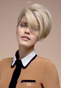 #vog #vogcoiffure #vogcoloryourlife #coloryourlife #coiffure #hairstyle #coiffeur #haidresser #cheveux #hair #beauté #beauty #cheveuxcourts #shorthair #volume #glamour #rock #2012 #collectionvog
