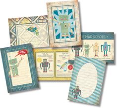 Bazzill - Mac Journaling Cards Low Res