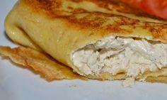 Συνταγή για τέλειες μίνι κρέπες με τυρί κρέμα και κοτόπουλο! Party Buffet, Greek Recipes, Crepes, Kids Meals, Donuts, Sandwiches, Brunch, Food And Drink, Snacks