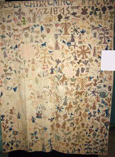 Quilt 1812: War & Piecing: Style: Unconfined Applique