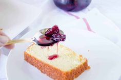 French Yogurt Cake Recipe (Easy and Delicious) - Mon Petit Four Cake Recipe Using Yogurt, French Yogurt Cake, Cherry Syrup, Easy Cake Recipes, Dessert Bars, Just Desserts, Cravings, Food To Make, Sweet Tooth