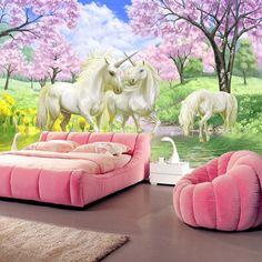 unicorn mural google cool