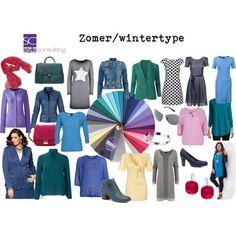 Kleuren en kleding voor het zomer/wintertype