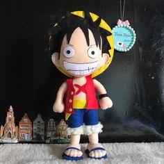 Luffy One Piece de Feltro