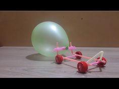 Make an Air Powered Balloon Car for kids – real life hacks – hacks girls tips Balloon Powered Car, Balloon Cars, Air Balloon, Kid Life Hacks, Useful Life Hacks, Car Racing For Kids, Wind Car, Incredible Toy, Vintage Car Party