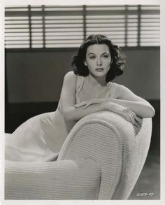 Hedy Lamarr photographed by Clarence Sinclair Bull, 1940.