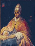 Pope Benedict XII (1334–1342), born Jaques Fournier in Pamiers,was previously active in the inquisition against the Cathar movement.In contrast to the rather bloody picture of the Inquisition in general,he was reported to be very careful about the souls of the examined, taking a lot of time in the proceedings.His interest in pacifying southern France was also motivation for mediating between the King of France and the King of England,before the outbreak of the Hundred Years' War.