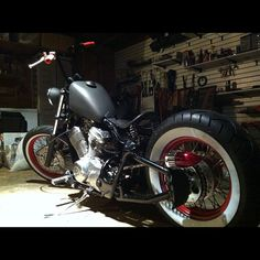 Jose Ortiz saved to already built one for my buddy Travis now think build one for my wife for her first bike Honda Shadow Bobber, Honda Bobber, Bobber Bikes, Bobber Motorcycle, Chopper Cruiser, Bobber Chopper, Custom Bobber, Custom Motorcycles, Old School Motorcycles