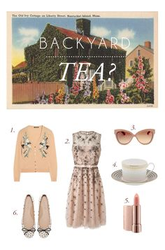 Vintage Inspired Outfits | Backyard Tea