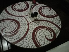 Mosaic Table I'd love to create.