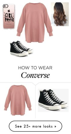 """""""Untitled #264"""" by harry-potter-forever66 on Polyvore featuring Converse and Casetify"""
