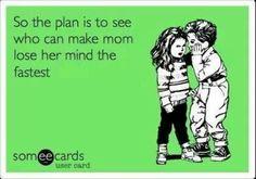 #Ecards #Kids  @Iris Karleskint @Molly Karleskint i think we were good at this dont you think mom?