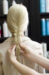 How to braid a fishtail.
