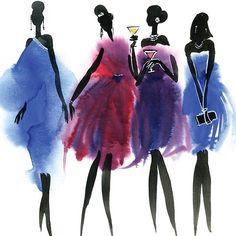 fashion illustration by @ludastekol