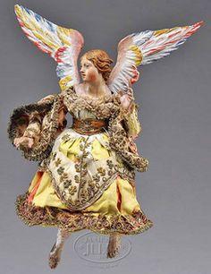Antique Creche Angel