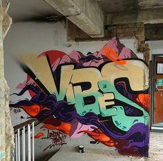 vibes ldn graffiti on Instagram