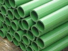 Abs and pvc are two types of pipes which are used by plumbers for various plumbing chores. Both pipes are made from plastic, and are used in sewer lines. Abs pipes  are available for purchase online or in store.