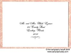 How To Address Wedding Invitations  Addressing Wedding Envelopes
