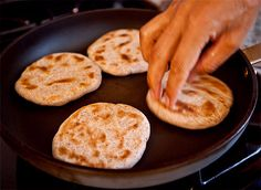 One Perfect Bite: Tibetan (Skillet) Flatbread - Mountain Kingdom Recipes
