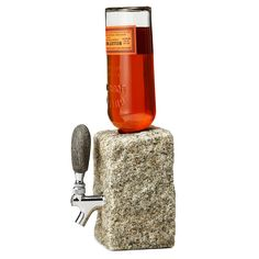 Stone Drink Dispenser Lets Mother Nature Aid You in Your Quest for Inebriation -  #drinking