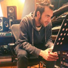 """Uploaded by Marco Mengoni on Facebook """"LESSON NUMBER 4 ;)"""""""