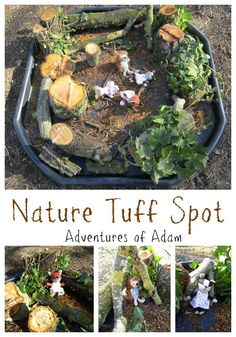 I know today's letter is L and we have posted our L is for Letter Tuff Spot already. The reason for our additional Nature Tuff Spot activity today is Eyfs Activities, Nursery Activities, Nature Activities, Autumn Activities, Toddler Activities, Outdoor Activities, Outdoor Education, Outdoor Learning, Outdoor Play