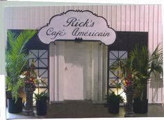Rick S Cafe Americain Poster