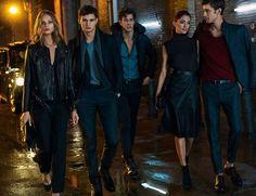 Vestir de negro, la estrategia de Massimo Dutti para ser el más elegante de la Navidad