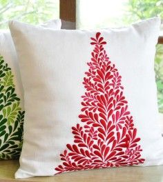 25 Best Christmas Pillow Case Images Throw Pillow Covers Handmade