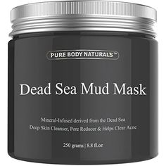 Pure Body Naturals Beauty Dead Sea Mud Mask for Facial Treatment, 250g / 8.8 fl.oz    ist Price:$29.95  Price:$25.95  Sale:$17.95 & FREE Shipping on orders over $35. Details  You Save:$12.00 (40%)