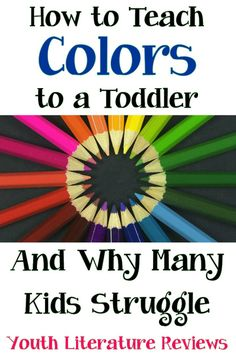 how to teach colors to a toddler and why many kids struggle - Color Book For Kids