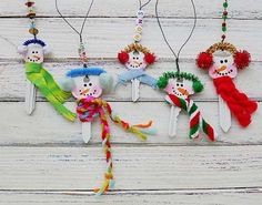 Key Snowman ornaments - I have to do this for next year - have LOTS of old keys.