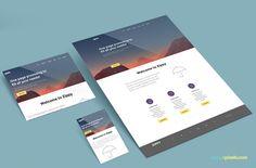 Free Perspective Website Mockup | ZippyPixels
