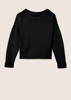 укороченный свитер 4