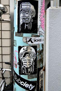More Tokyo Stickers | Flickr: Intercambio de fotos